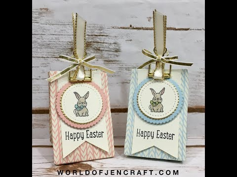Stampin' Up! A Good Day Easter Treat Bag