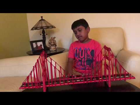How to build Golden Gate Bridge?
