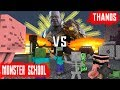 MONSTER SCHOOL VS THANOS AVENGERS END GAME Minecraft Animation
