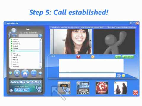 How to mke a 3-way hi video call
