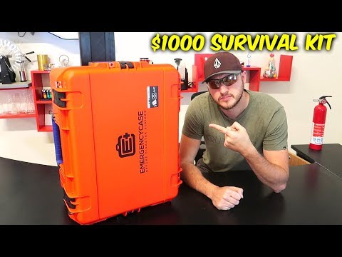 $1000 Survival Kit in a Case
