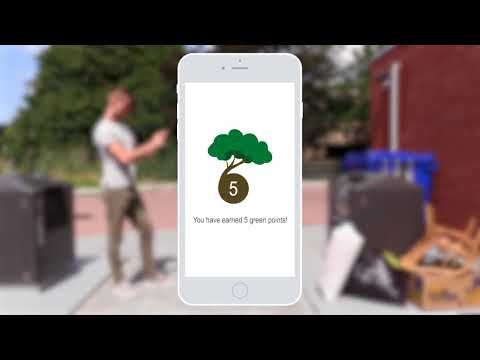 My Clean City app: Waste Next to Containers
