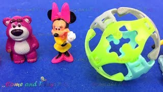 Super Surprise Eggs Kinder Surprise Kinder Joy Mickey Mouse Hello Kitty Toy Story