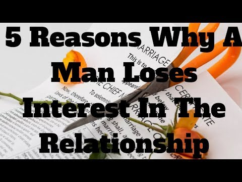 5 Reasons Why A Man Loses Interest In The Relationship