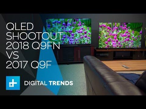 Samsung 2018 Q9FN QLED TV vs. 2017 Q9F QLED TV