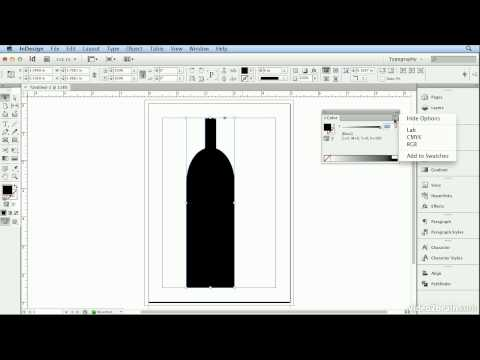 Adobe Indesign CS6 Tutorial - 27  Drawing with Shapes and Lines