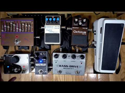 How To: Use a blender pedal on a bass pedalboard with other effects