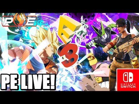 PE LIVE! - Rd to E3 #24 | RUMOR: Switch-DB FighterZ, Fortnite, Killer Queen Black & MORE at E3 2018!