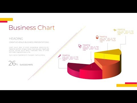 How To Design Beautiful Business Chart for Corporate Presentation in Microsoft Office 365 PowerPoint