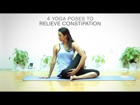 4 Yoga Poses To Relieve Constipation