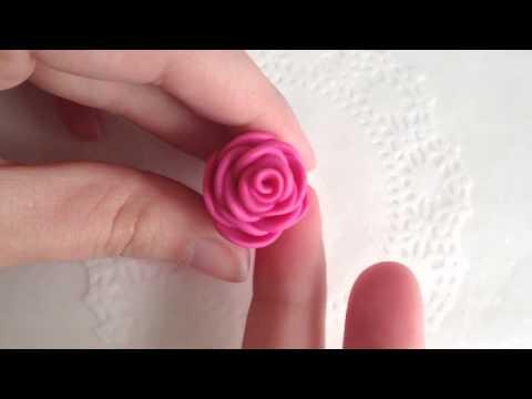 Rose Ring DIY: Polymer Clay