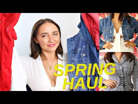 try on clothing haul | urban outfitters fashion nova and more