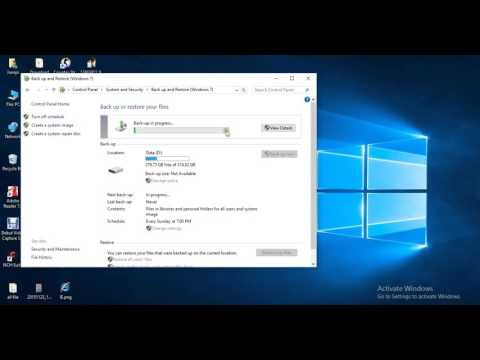 windows 10 backup and restore (windows 7)