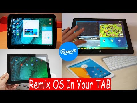 How to install REMIX OS on any Android Phone / Tablet
