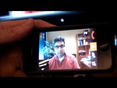 ooVoo for iOS Hands On