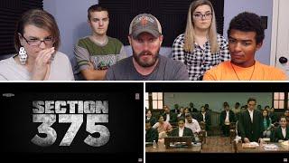 Section 375 Official Trailer REACTION! | Akshaye Khanna, Richa Chadha,Ajay Bahl