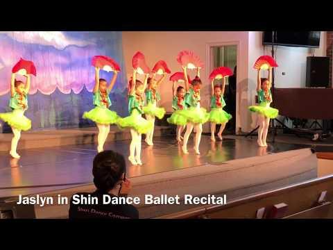 Chinese Dance (Nutcracker) Ballet Recital 2018 Jaslyn TV