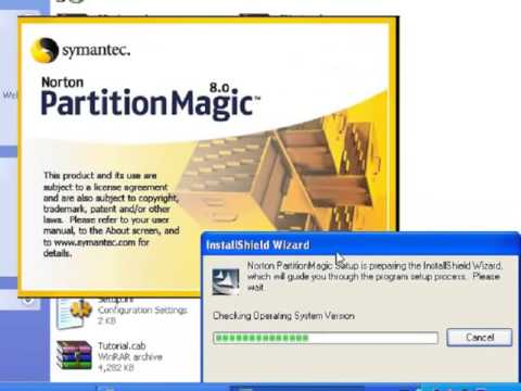 partition magic on window xp
