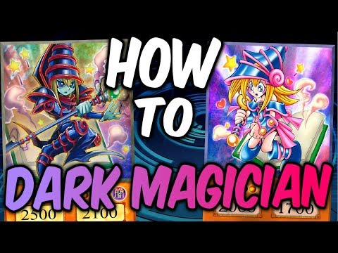 DARK MAGICIAN FOR DUMMIES! (Competitive Yugioh Deck Learning)