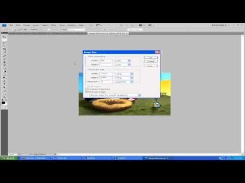 How To Resize Images - Adobe Photoshop CS4