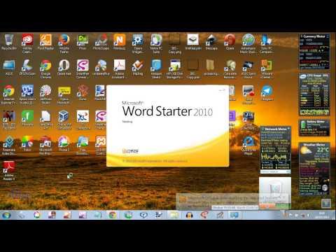 [Alivehacker] Microsoft Office 2010 Starter - Instalasi di Windows 7