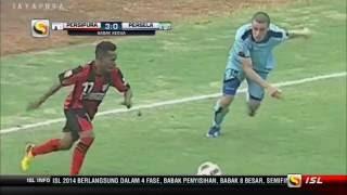 ISL 2014 - Persipura Jayapura 3-0 Persela Lamongan