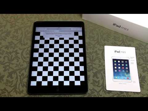 iPad Mini Retina - Screen Test - Image Retention - How to perform & what to look out for.