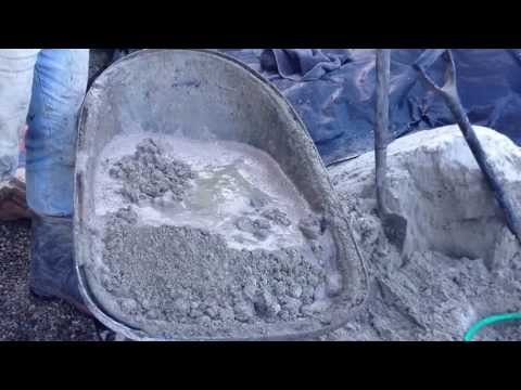 R1 - Mortar Mix Step by Step for Artificial Rocks - top coat
