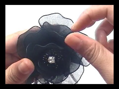 How to Make Nylon Wedding Flower Boutonniere