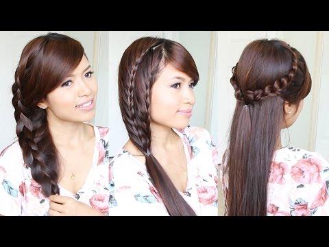 3 Cute & Easy Summer Hairstyles for Medium to Long Hair