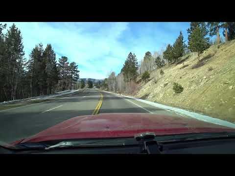 Salida, CO to Gunnison, CO Time Lapse Drive | Monarch Pass Colorado