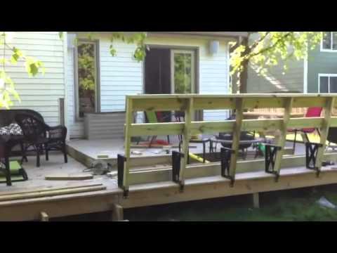 Deck Bench Build
