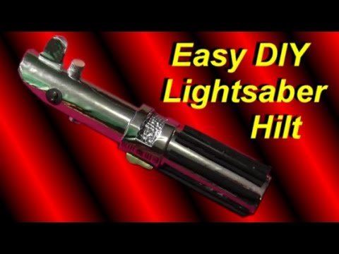 How to Make a Lightsaber Hilt (Cheap and Easy Star Wars DIY)