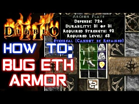 Bug Eth Armor - Diablo 2