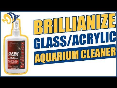 Brillianize Glass/Acrylic Aquarium Cleaner Product Demo