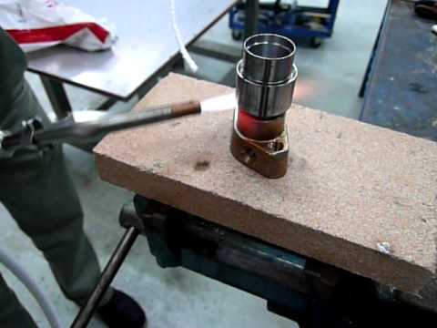 Brazing Brass to Stainless Steel