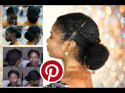 Pintrest Inspired Natural Hair Style | Collab