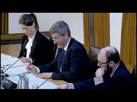 Delegated Powers and Law Reform Committee - Scottish Parliament: 5th May 2015