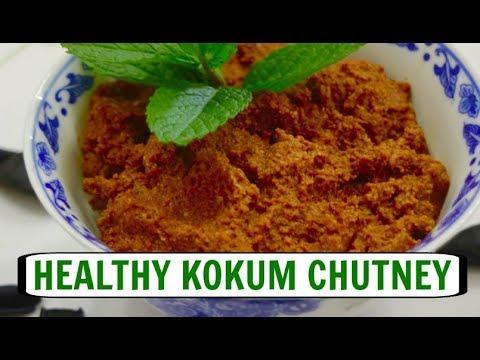 Healthy Kokum Chutney | Easy Kokum-Dates Chutney Video | Weight Loss Chutney  - Curry for the Soul