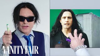 """Tommy Wiseau Breaks Down a Scene from """"The Disaster Artist""""   Notes on a Scene   Vanity Fair"""