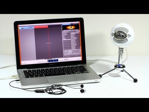 Zero Latency Monitoring with the Blue Snowball (or any USB Microphone, Mac & PC)