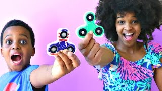 1000 MPH FIDGET SPINNER CRAZY EXPERIMENT! - Bad Baby Shiloh and Shasha - Onyx Kids