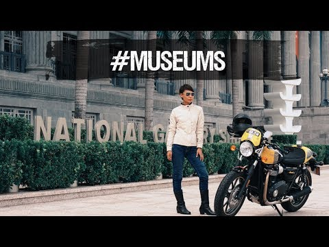 InstaScram Goghs to #museums of Singapore