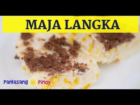 Maja Blanka Langka   Panlasang Pinoy