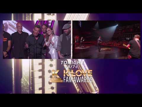 2018 K-LOVE Fan Awards hosted by Matthew West & Mandisa TONIGHT 8/7c