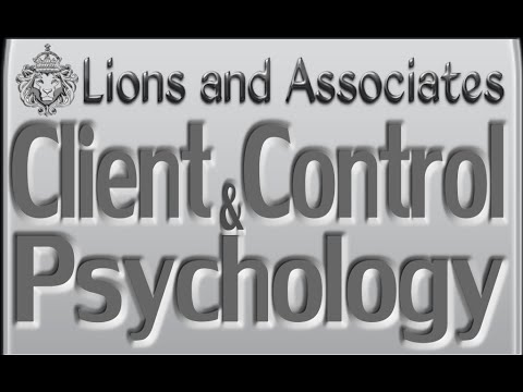 Elements of Client Control and Sales Psychology in the Consultative Selling Cycle by Mike Lions