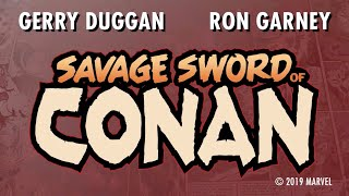 SAVAGE SWORD OF CONAN Launch Trailer | Marvel Comics