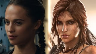 Tomb Raider (2018) - Game vs. Movie Trailer Comparison