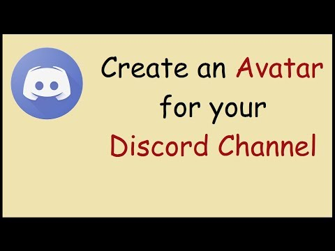 How to add an avatar for your discord channel