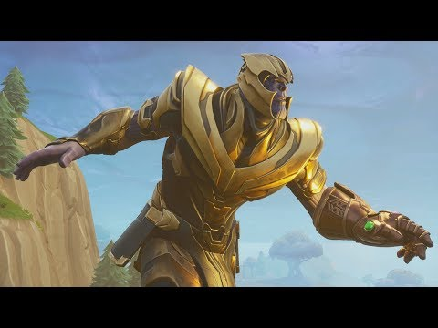 PLAY AS THANOS GAMEPLAY! - Fortnite Infinity Gauntlet Mode
